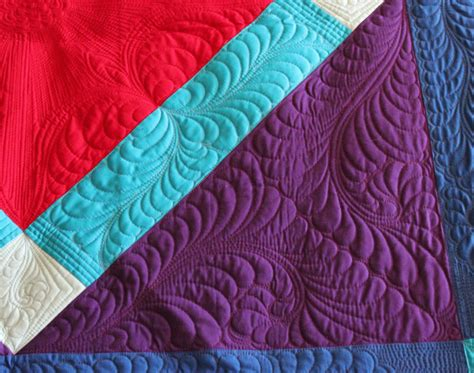 Feather Quilting Designs by Quilting Is Therapy Feather Quilting Designs Quilting Is Therapy