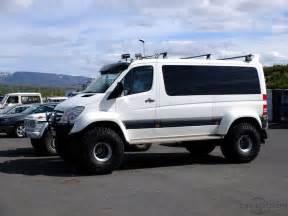 Dodge Sprinter 4x4 Mercedes Sprinter In Iceland Road 4x4 Overland