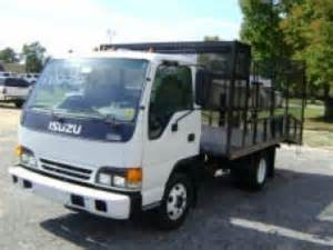 2002 Isuzu Npr For Sale 2002 Isuzu Npr Tilt Cab Landscaping In Houston Tx 77001