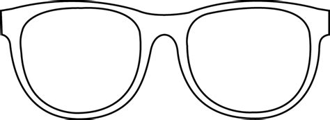 coloring page sunglasses sunglasses outline the sunglasses