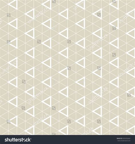 seamless pattern grid triangle grid designvector seamless pattern stock vector
