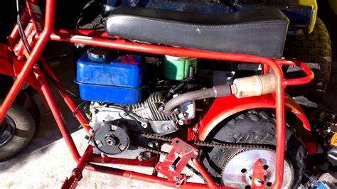doodle bug mini bike engine doodlebug minibike 6 5hp upgrade