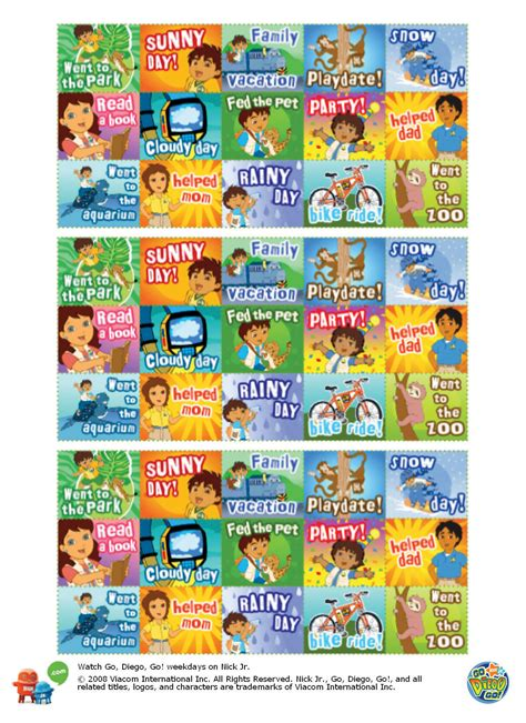 printable dora stickers 7 best images of free online printable stickers free