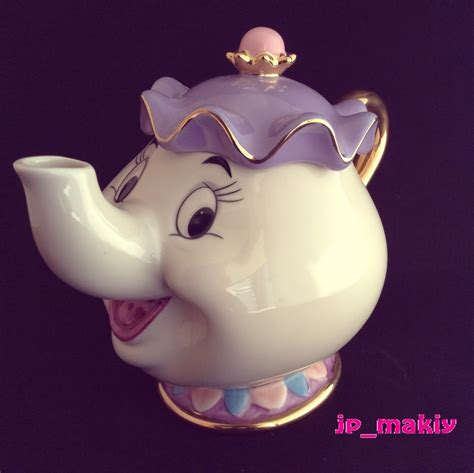beauty and the beast pot disney beauty and the beast mrs potts chip tea pot cup