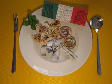 wertvolle pasta geldgeschenke pinterest geld