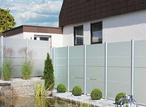 Glas Sichtschutz Terrasse by Sichtschutz Terrasse Die Zus 228 Tzliche Komfortabel Und Sicher