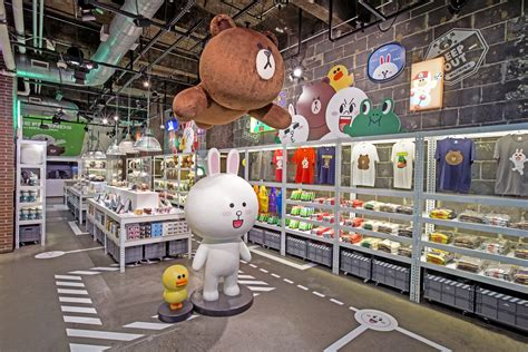 line store line opens its line friends pop up store in