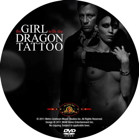 girl with the dragon tattoo 2011 the with the 2011 cd1 custom dvd