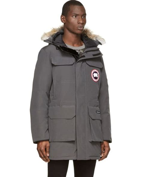 New Dc Parka Grey on sale canada goose citadel parka for in gray