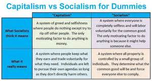 Socialism Vs Capitalism Essay by Capitalism Vs Socialism Brilliantly Explained For Dummies