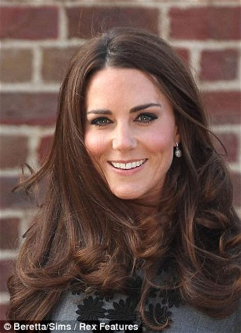voted best hair dye the duchess of cambridge displays her greys has kate been