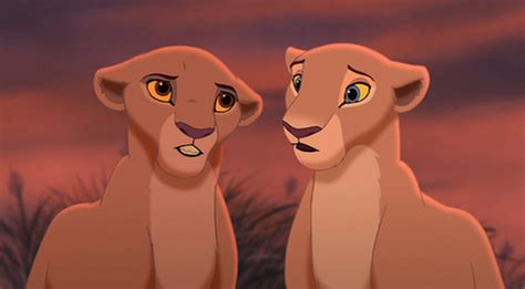 Gamis Kiara nala kiara kiara explaining to simba that kovu saved