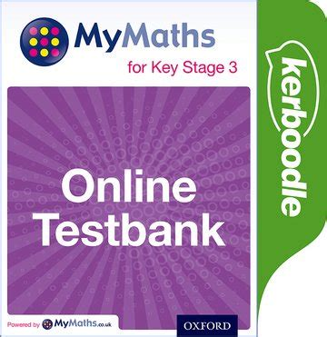 libro mymaths for key stage mymaths for key stage 3 online testbank oxford university press