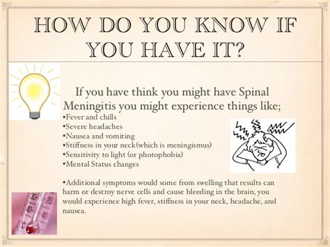 if you ve thought about spinal meningitis