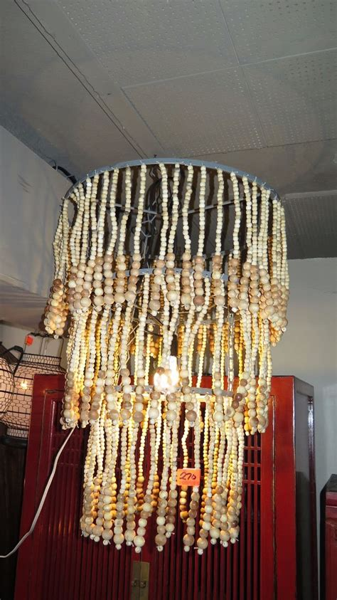 sea breeze ceiling lrg beaded sea breeze white hanging ceiling l approx