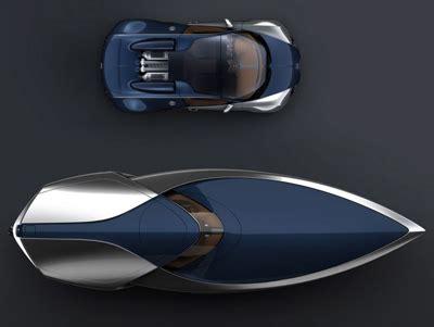 bugatti veyron  bleu speedboat concept boats