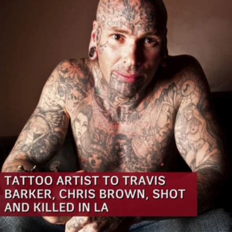 brown soul tattoos artist to travis barker chris brown and