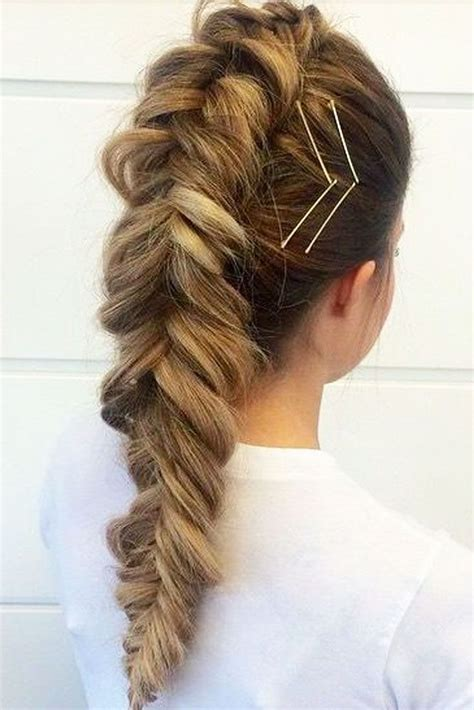 Hairstyles To Do With Bobby Pins by Braid Hairstyles No Bobby Pins Hair