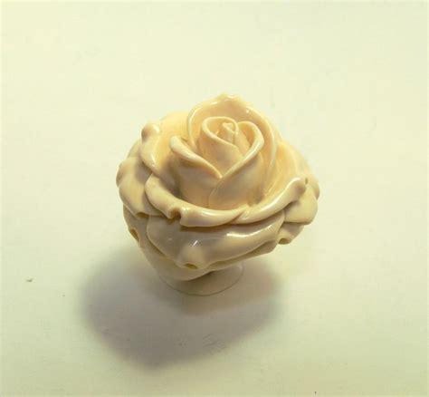ring ivory ring flower promise rings unique flower
