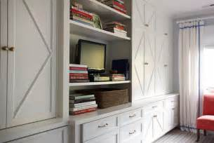 Storage Built Ins Built In Cabinet Transitional Living Room Suellen