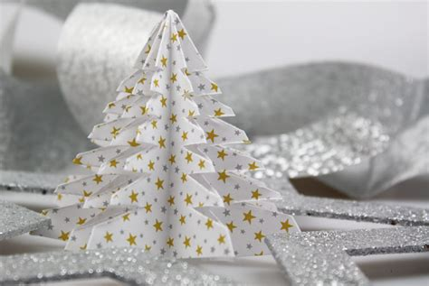 basteln mit papier weihnachten