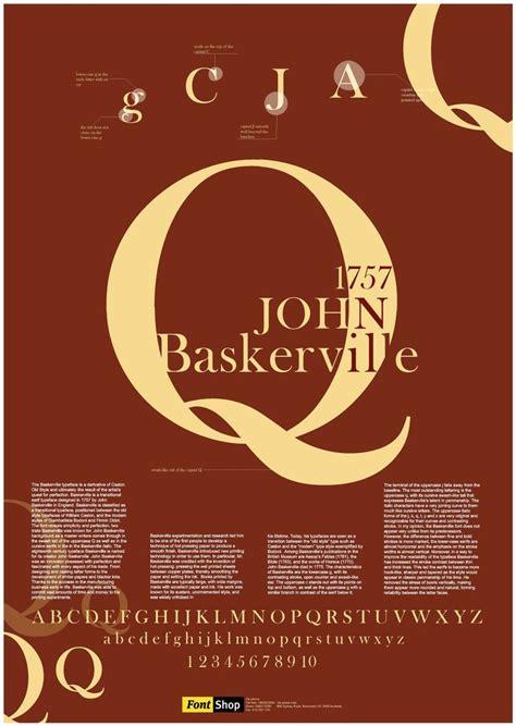 font poster 16 best images about baskerville on pinterest history