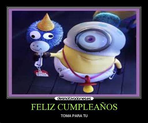 imagenes de feliz cumpleaños amiga de los minions feliz cumplea 241 os los minions imagui