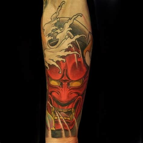 japanese elbow tattoo designs 40 intriguing japanese mask designs a rich