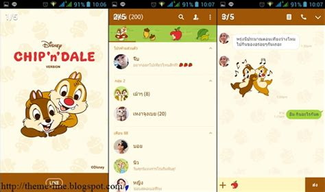 theme line android chip n dale theme line chip n dale line theme