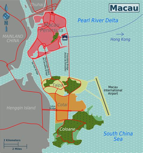 macao on world map map of macao map districts worldofmaps net