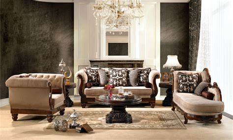 Traditional Style Furniture Living Room by Luxurious Traditional Style Formal Living Room Set Hd 462
