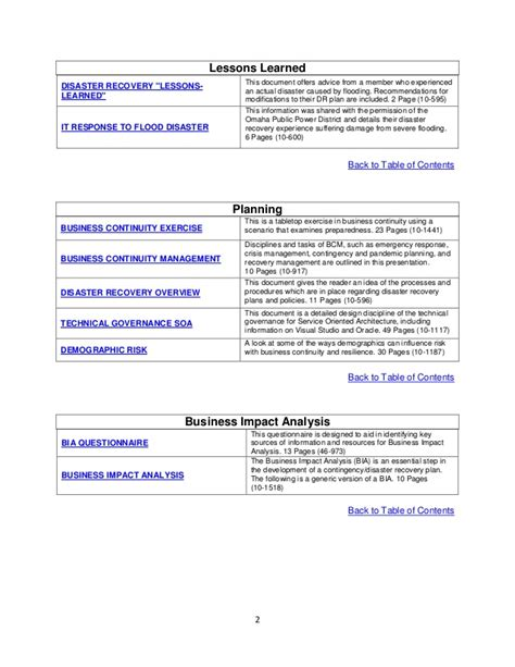 Tk003 Disaster Recovery Business Continuity Flood Tabletop Exercise Template