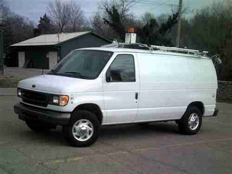 how things work cars 2002 ford econoline e250 seat position control buy used 2002 ford econoline e250 3 4 ton cargo work delivery van 1 owner clean in potosi
