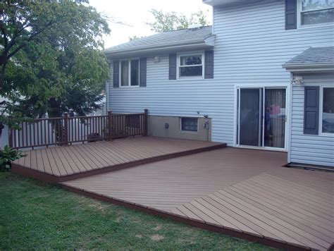 backyard deck backyard deck ideas ground level home design ideas