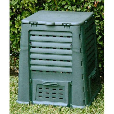 plastic compost bin exaco thermoquick 110 gallon wibo recycled plastic compost