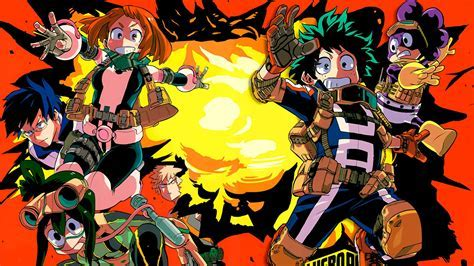 My Hero Academia Explosion Anime Wallpaper #30328