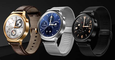 Smartwatch Huawei Mwc Huawei Launches Smartwatch Apple S Competitor