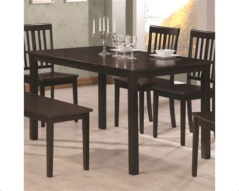 coaster venice rectangular dining table co 103191