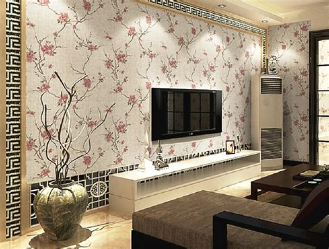 wallpaper dinding ruang tamu elegan desain wallpaper dinding ruang tamu tak elegan 10