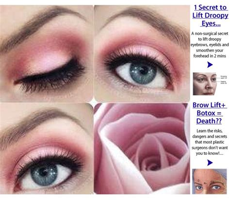 eyeshadow tutorial for small eyelids 17 best images about makeup for droopy eyelids on