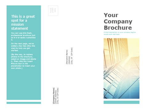 design brochure using powerpoint brochures office com