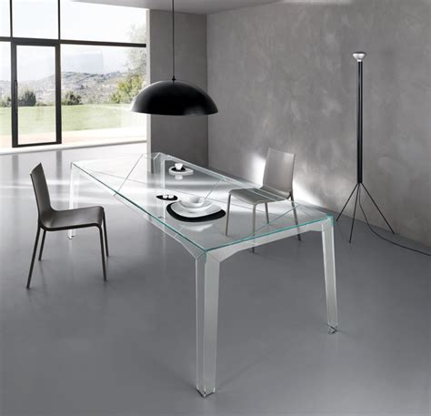 all glass dining room table fragments all glass dining table by tonelli design