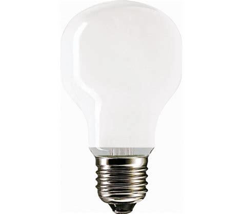 softone 75w e27 220 240v t55 wh 1ct 10x10f softone standard philips lighting