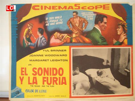 el ruido y la quot el ruido y la furia quot movie poster quot the sound and the fury quot movie poster