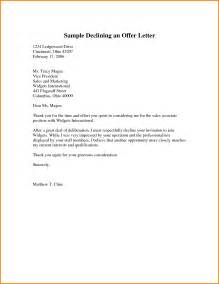 thank you letter for offer exle
