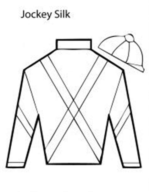 jockey silks coloring page coloring coloring books and