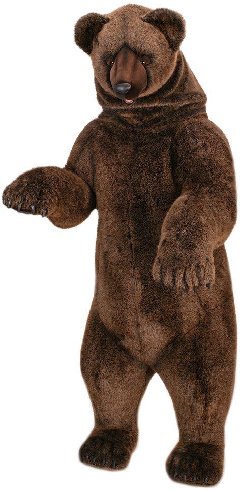 size stuffed animal 78 quot size grizzly stuffed animal