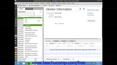 quickbooks tutorial on youtube quickbooks pro 2013 tutorial renaming and merging list