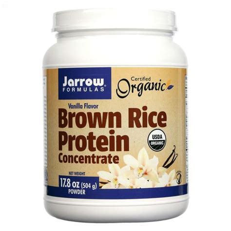 protein rice jarrow formulas organic brown rice protein concentrate