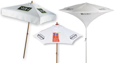 Logo Patio Umbrellas Custom Printed Patio Umbrellas Icamblog